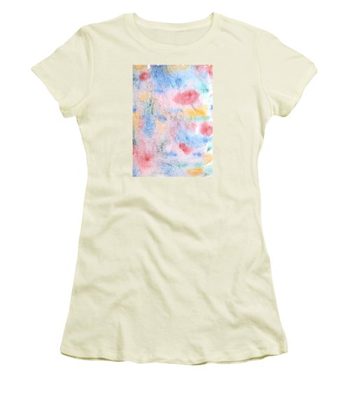 Women's T-Shirt (Junior Cut) featuring the photograph Spring Garden by Susan  Dimitrakopoulos