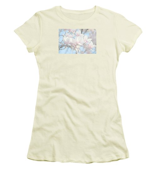 Women's T-Shirt (Junior Cut) featuring the photograph Spring Has Arrived 3 by Susan  McMenamin