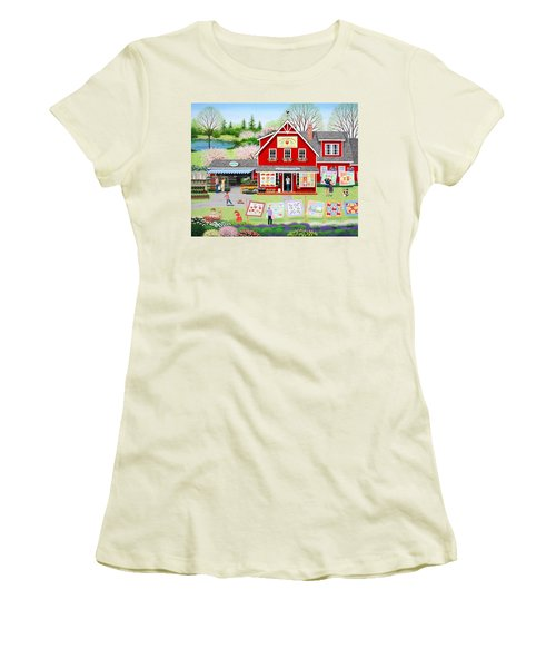 Springtime Wishes Women's T-Shirt (Athletic Fit)