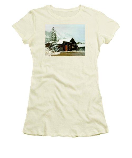 St Elmo Snow Women's T-Shirt (Athletic Fit)