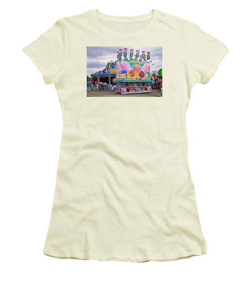 Women's T-Shirt (Junior Cut) featuring the photograph State Fair by Steven Bateson