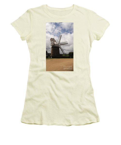 Still Turning In The Wind Women's T-Shirt (Junior Cut) by Tracey Williams