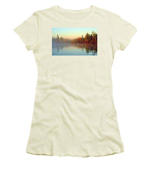 Still Water Marsh Women's T-Shirt (Junior Cut) by Terri Gostola
