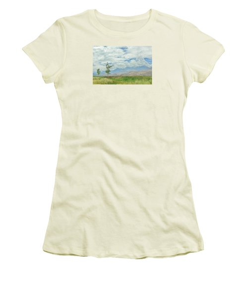 Stormin Women's T-Shirt (Junior Cut) by Marilyn Diaz