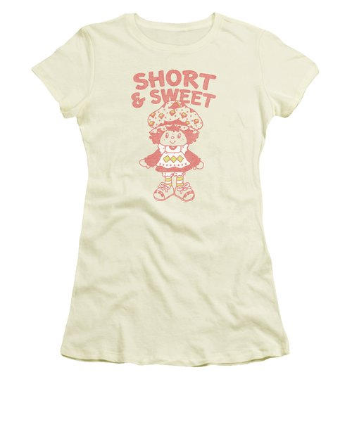 Strawberry Shortcake - Short And Sweet Women's T-Shirt (Junior Cut) by Brand A