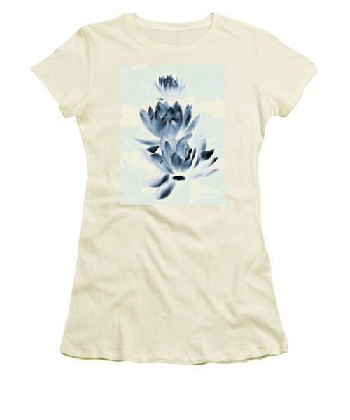 Study In Blue Women's T-Shirt (Athletic Fit)
