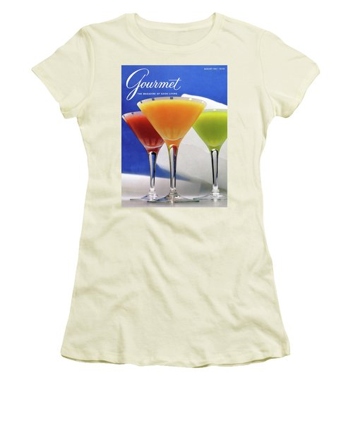 Summer Cocktails Women's T-Shirt (Athletic Fit)