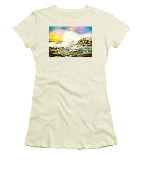 Sunset Breakers Women's T-Shirt (Athletic Fit)