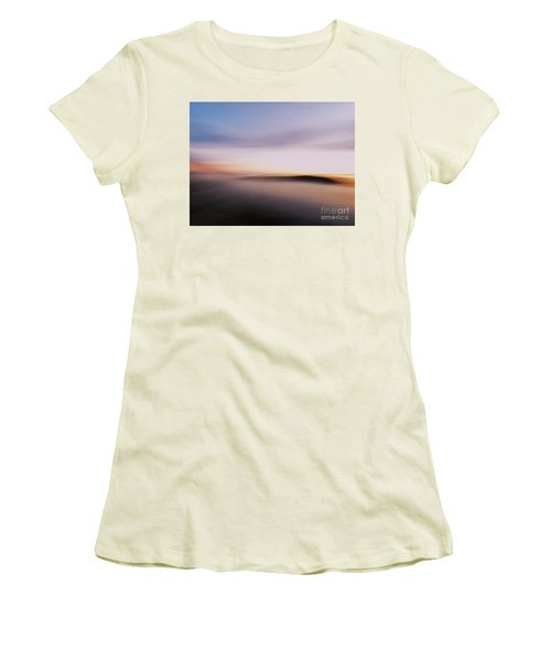 Sunset Island Dreaming Women's T-Shirt (Athletic Fit)