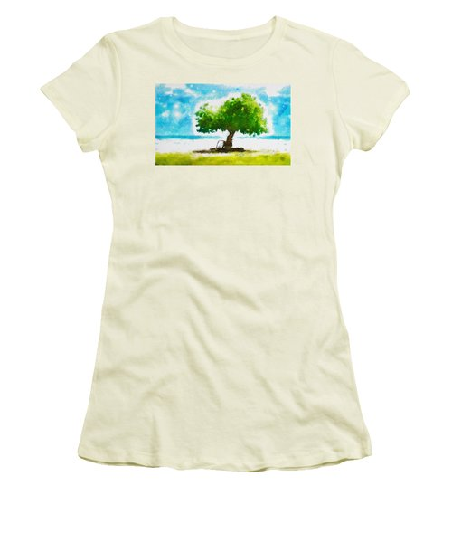 Summer Magic Women's T-Shirt (Junior Cut) by Greg Collins