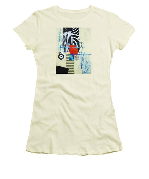 Target Women's T-Shirt (Junior Cut) by Elena Nosyreva
