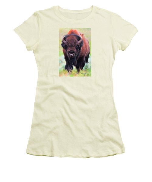 Da105 Tatonka By Daniel Adams Women's T-Shirt (Athletic Fit)