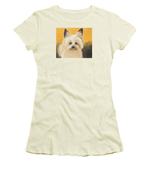 Terrier Women's T-Shirt (Junior Cut) by Jeanne Fischer