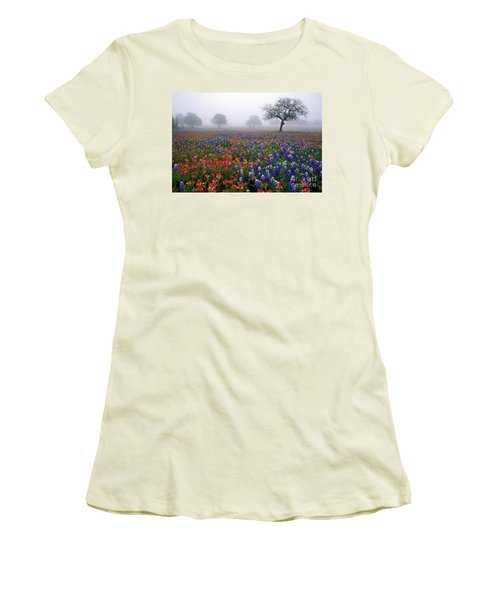 Texas Spring - Fs000559 Women's T-Shirt (Athletic Fit)