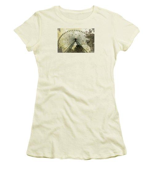 Texas Star Old Fashioned Fun Women's T-Shirt (Junior Cut) by Joan Carroll