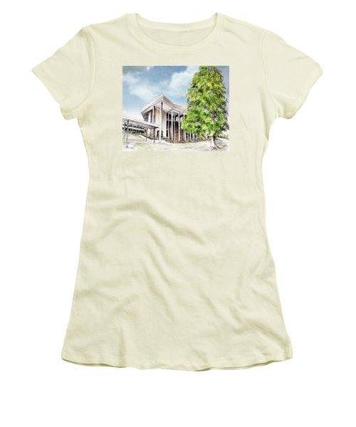 The Angles Of A Modern Architecture  Women's T-Shirt (Junior Cut) by Danuta Bennett