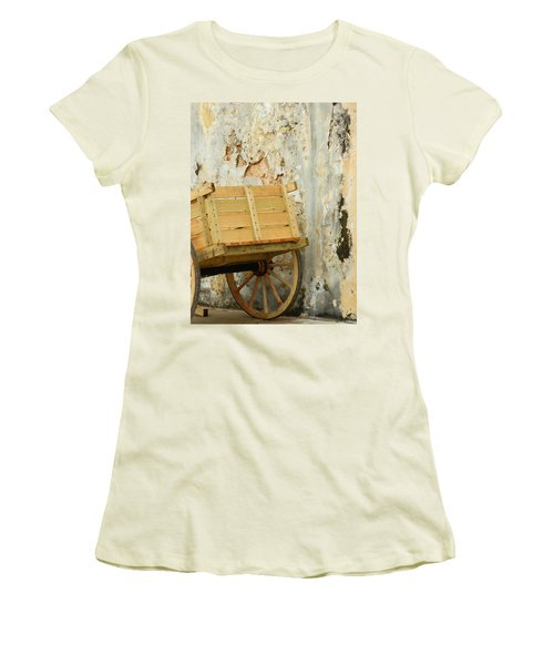 The Apple Cart Women's T-Shirt (Athletic Fit)