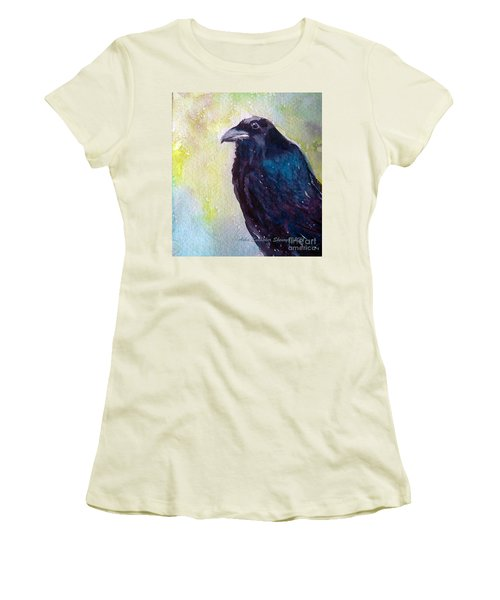 The Blue Raven Women's T-Shirt (Athletic Fit)