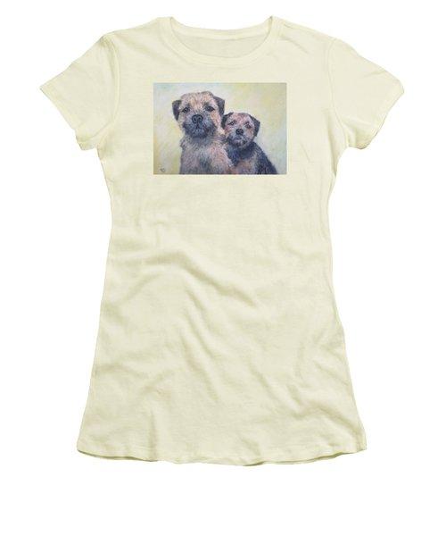 The Border Boys Women's T-Shirt (Athletic Fit)