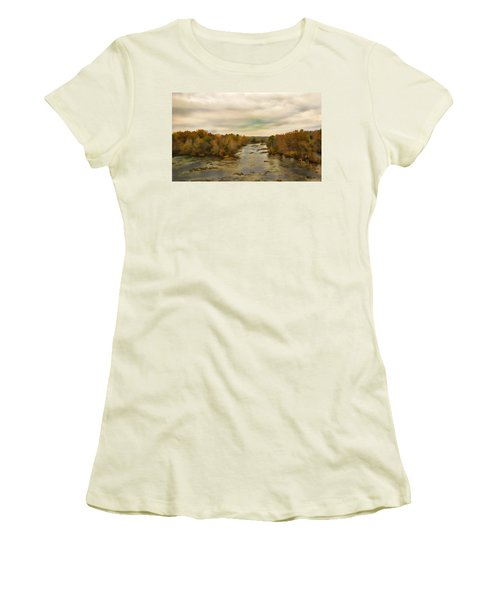 The Broad River Women's T-Shirt (Athletic Fit)