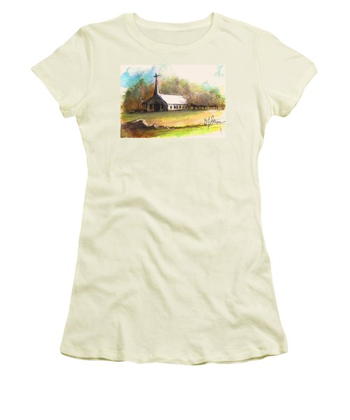 The Church Women's T-Shirt (Athletic Fit)