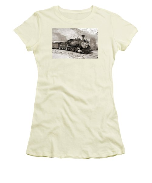 The Durango And Silverton Women's T-Shirt (Athletic Fit)