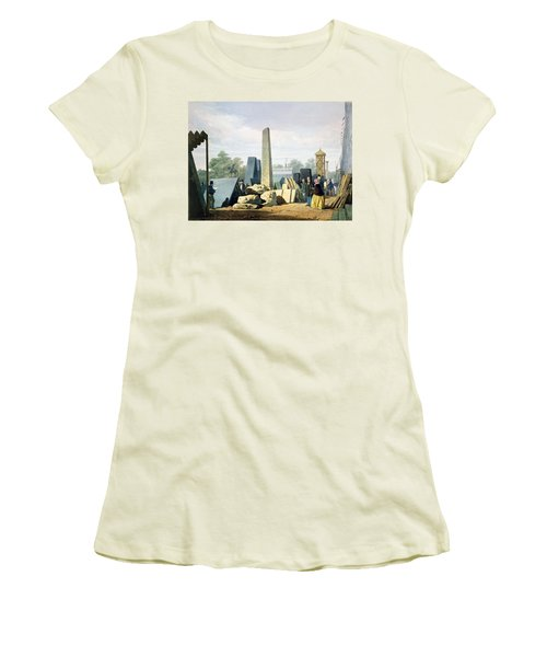 The Exterior, From Dickinsons Women's T-Shirt (Junior Cut) by English School