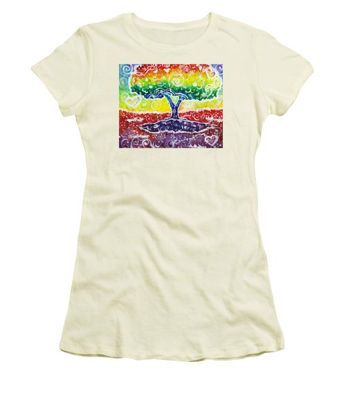 The Giving Tree Women's T-Shirt (Athletic Fit)