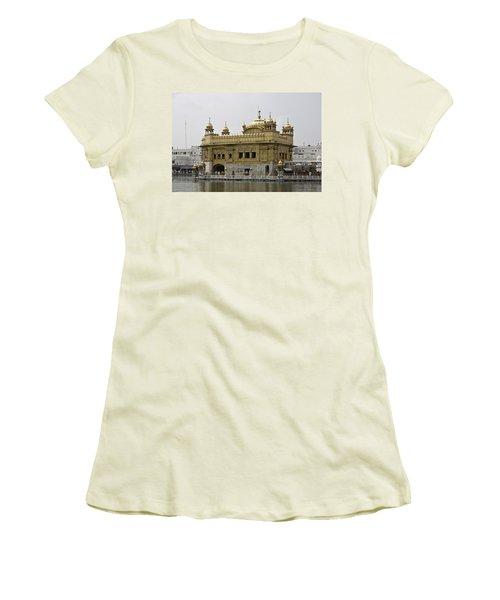 The Golden Temple In Amritsar Women's T-Shirt (Junior Cut)