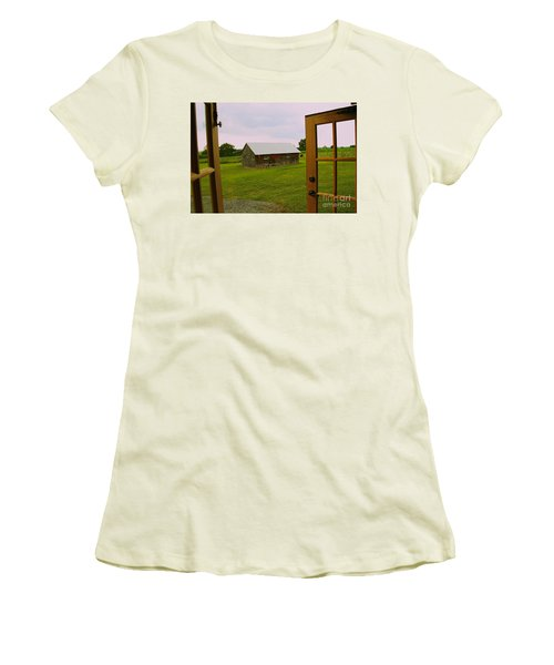 The Grounds Women's T-Shirt (Athletic Fit)