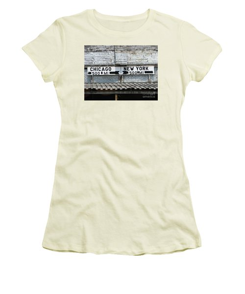 The Intersection II Women's T-Shirt (Athletic Fit)