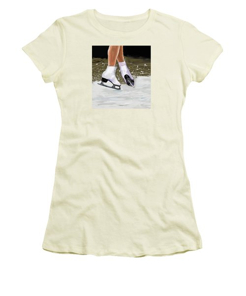 The Jump Women's T-Shirt (Athletic Fit)