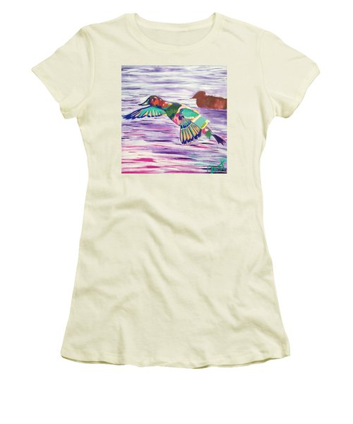 The King Canvasback Women's T-Shirt (Athletic Fit)