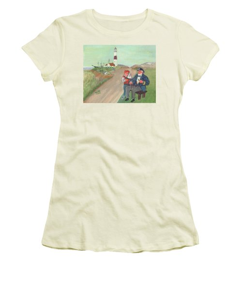 The Lore Of The Sea Women's T-Shirt (Athletic Fit)