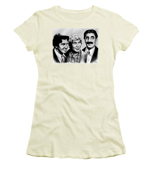 The Marx Brothers Women's T-Shirt (Athletic Fit)