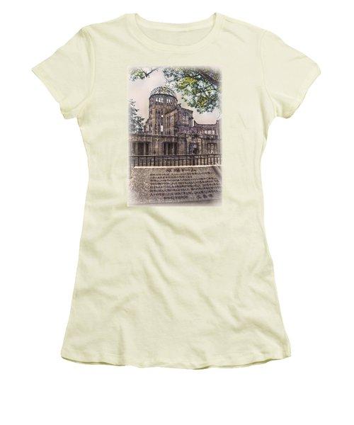 Women's T-Shirt (Junior Cut) featuring the photograph The Memorial by Hanny Heim