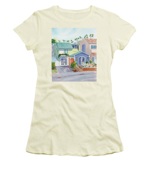 The Most Colorful Home In Belmont Shore Women's T-Shirt (Athletic Fit)