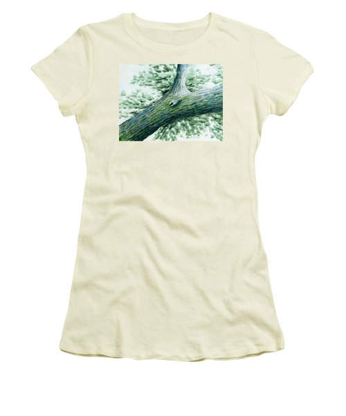 The Nuthatch Women's T-Shirt (Athletic Fit)