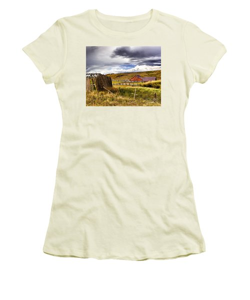 The Ol' Homestead Women's T-Shirt (Athletic Fit)