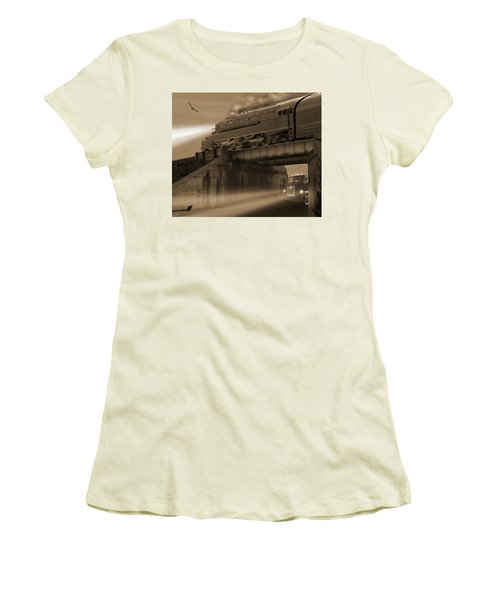 The Overpass 2 Women's T-Shirt (Athletic Fit)