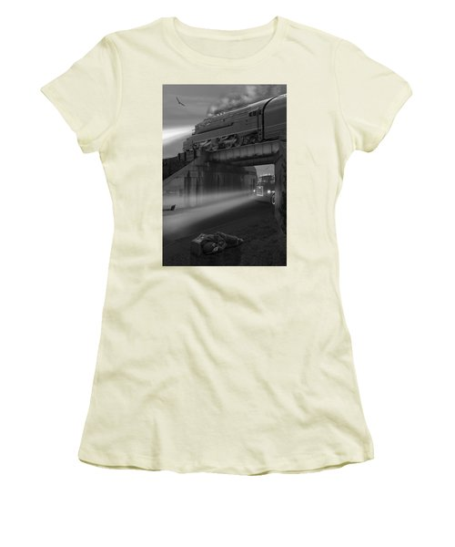 The Overpass Women's T-Shirt (Athletic Fit)