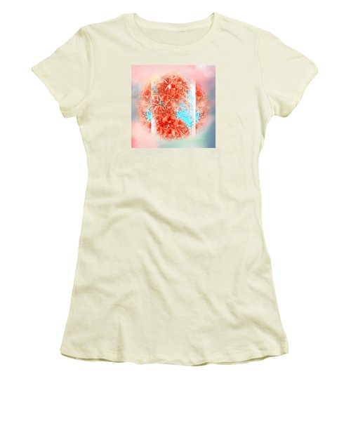 The Painting-within-a-painting  Women's T-Shirt (Athletic Fit)