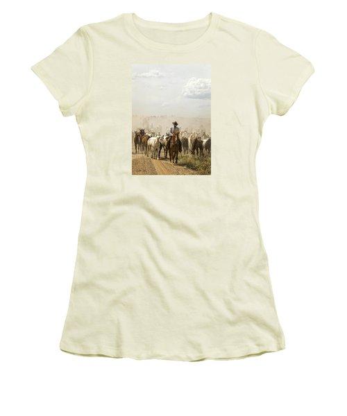 The Road Home 2013 Women's T-Shirt (Junior Cut) by Joan Davis