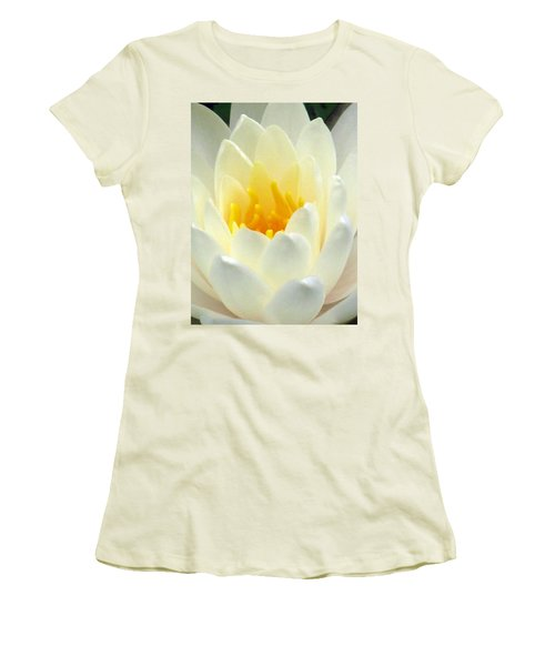 Women's T-Shirt (Junior Cut) featuring the photograph The Water Lilies Collection - 10 by Pamela Critchlow