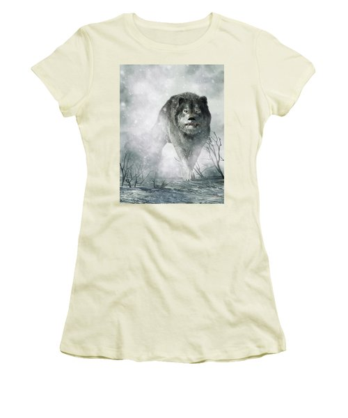 The Wolf Of Winter Women's T-Shirt (Athletic Fit)