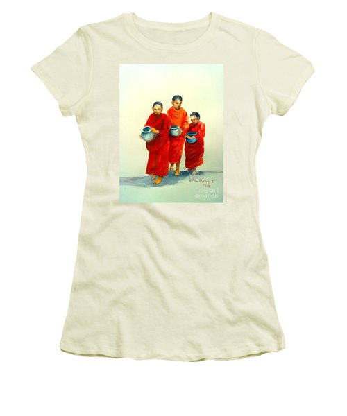 The Young Monks Women's T-Shirt (Athletic Fit)