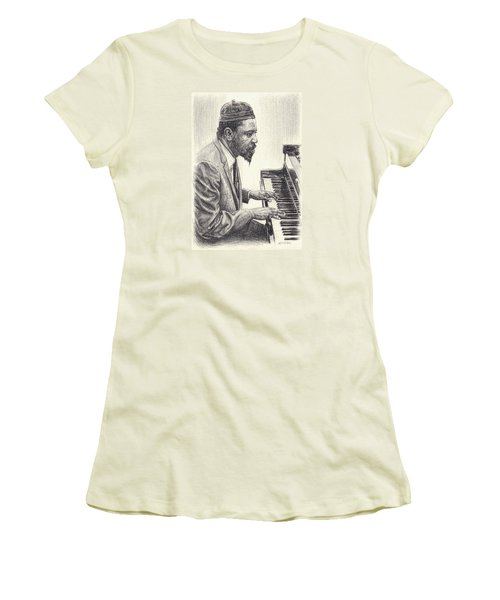 Thelonious Monk II Women's T-Shirt (Athletic Fit)