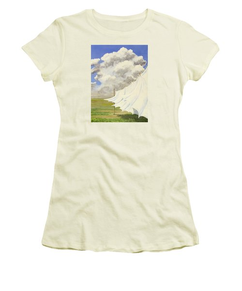 Three Sheets To The Wind Women's T-Shirt (Junior Cut) by Jack Malloch