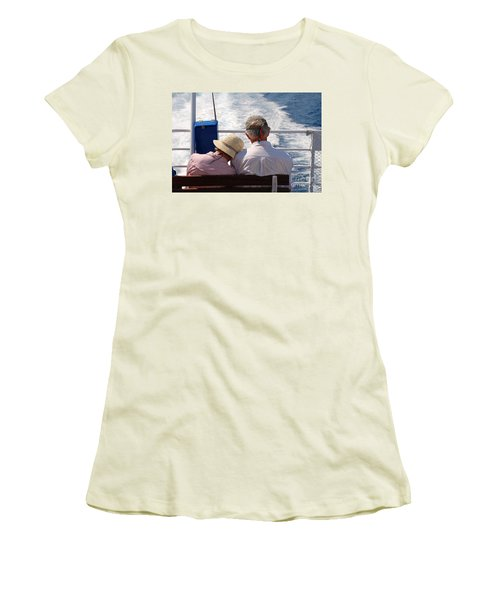 Together In Greece Women's T-Shirt (Athletic Fit)