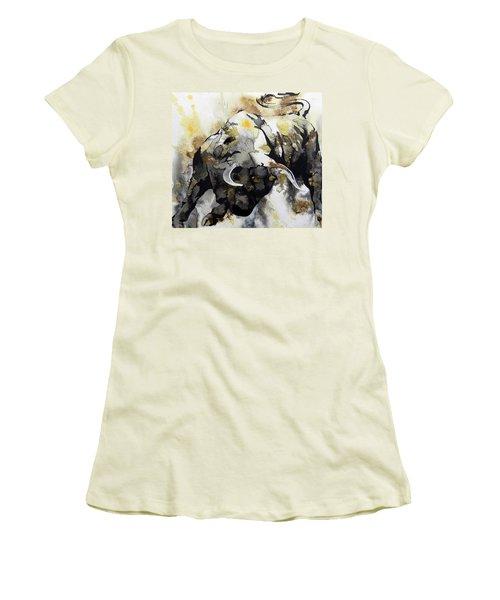 T  . O  .  R  .  O  .   A B S T R A C T Women's T-Shirt (Athletic Fit)